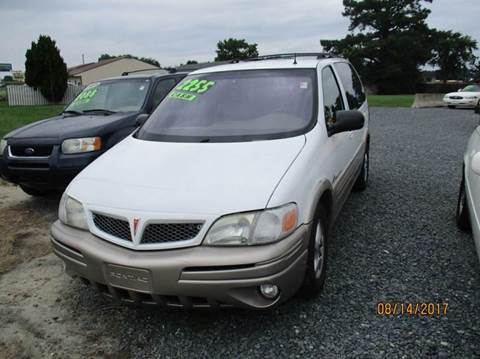 2001 Pontiac Montana for sale in Laurel, DE