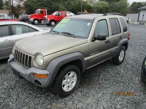 2003 Jeep Liberty for sale in Laurel, DE