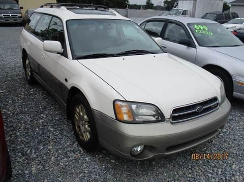 2002 Subaru Outback for sale in Laurel, DE