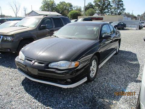 2003 Chevrolet Monte Carlo for sale in Laurel, DE