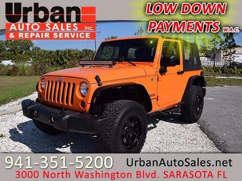 2012 Jeep Wrangler for sale in Sarasota, FL