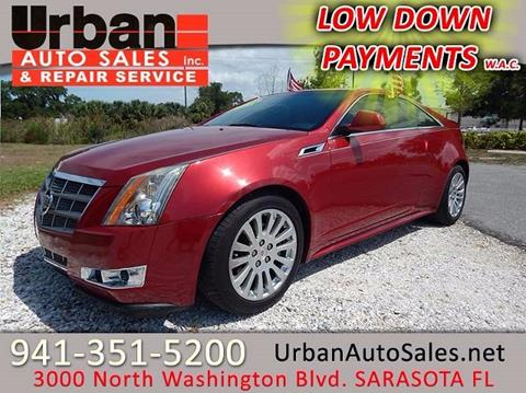 2011 Cadillac CTS for sale in Sarasota FL
