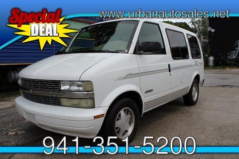 2001 Chevrolet Astro for sale in Sarasota FL