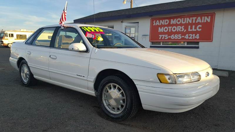 1995 ford taurus se 4dr sedan in fallon nv sand mountain. Black Bedroom Furniture Sets. Home Design Ideas