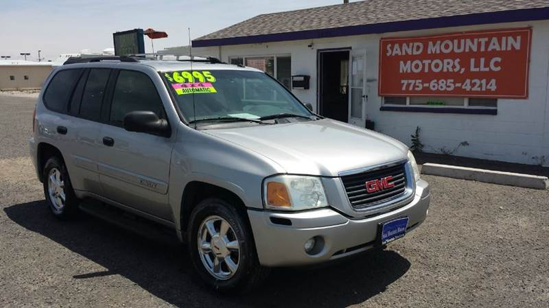 2004 gmc envoy sle 4wd 4dr suv in fallon nv sand. Black Bedroom Furniture Sets. Home Design Ideas