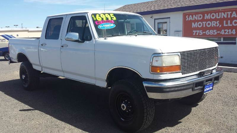 1997 ford f 250 xlt 4dr 4wd crew cab sb hd in fallon nv. Black Bedroom Furniture Sets. Home Design Ideas