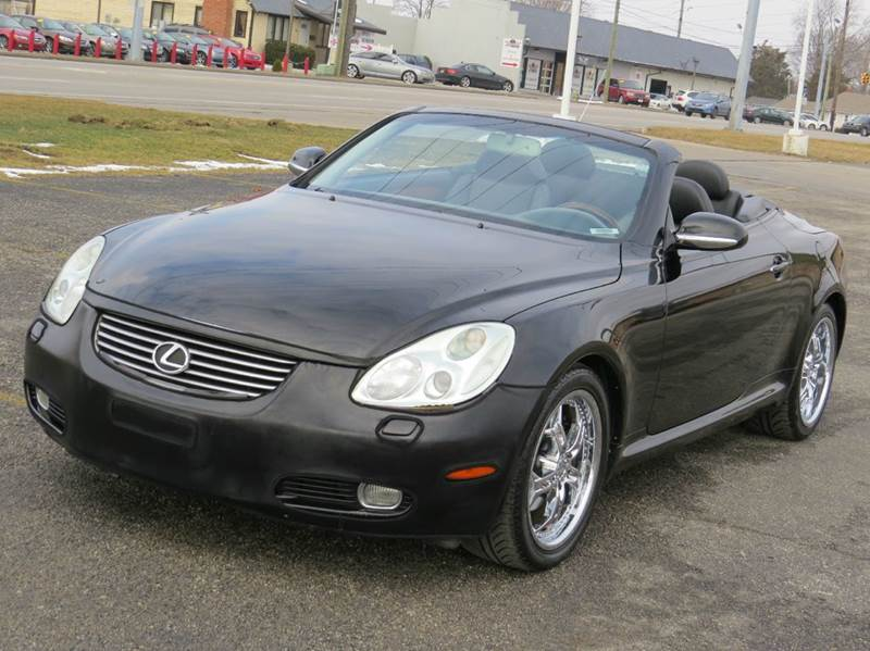 2003 lexus sc 430 2dr convertible in indianapolis in xtreme motors. Black Bedroom Furniture Sets. Home Design Ideas