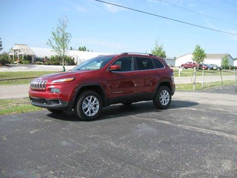 2014 Jeep Cherokee for sale in Angola, IN