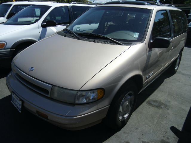 1993 NISSAN QUEST GXE gold air conditioningalloy wheelsanti-brake system non-abs  4-wheel abs