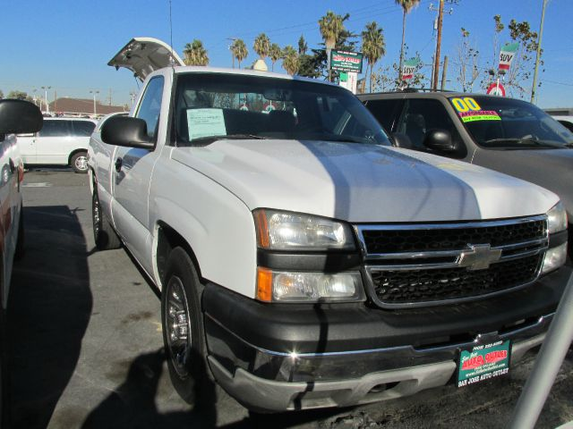 2006 CHEVROLET SILVERADO 1500 WORK TRUCK LONG BED 2WD white 2006 chevrolet silverado 1500 regular
