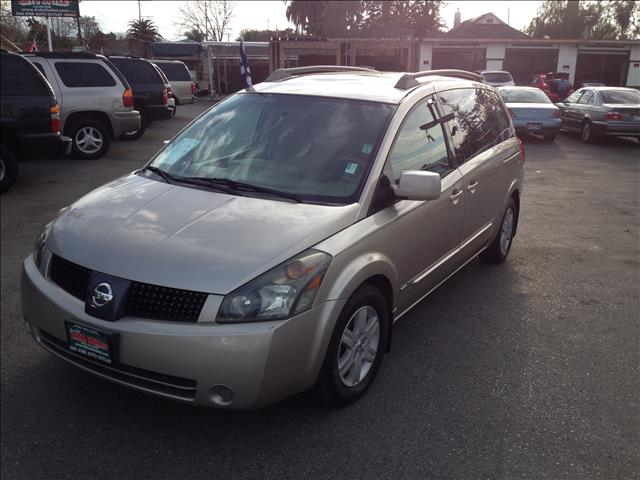 2006 NISSAN QUEST 35 SL gold abs brakesadjustable foot pedalsair conditioningalloy wheelsamf
