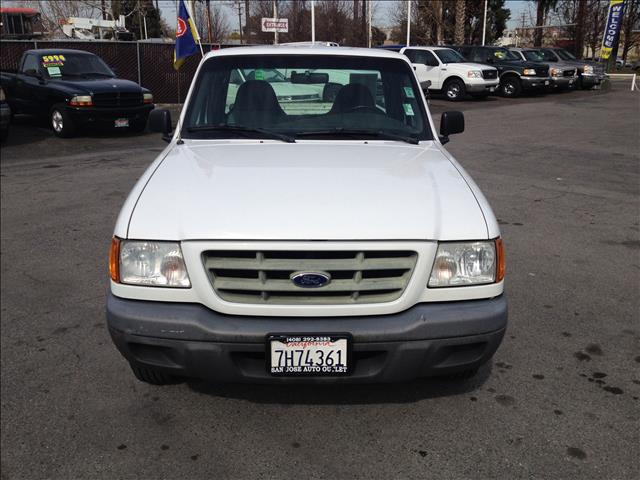 2003 FORD RANGER XL SHORT BED 2WD - 311A white dont forget your online car loan application