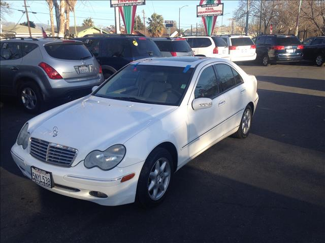 2001 MERCEDES-BENZ C-CLASS C240 white this is an internet offer so please ask for the internet sa