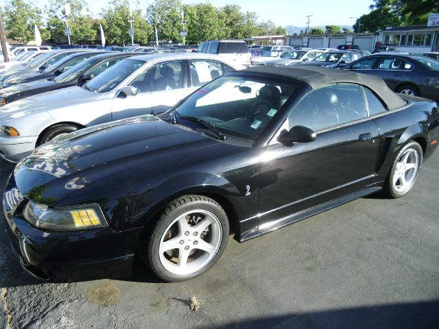 2001 FORD MUSTANG COBRA CONVERTIBLE black do not forget your on line car loan application