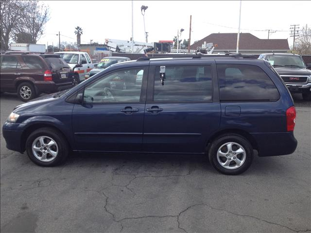 2002 MAZDA MPV LX blue abs brakesair conditioningalloy wheelsamfm radioanti-brake system 4-w