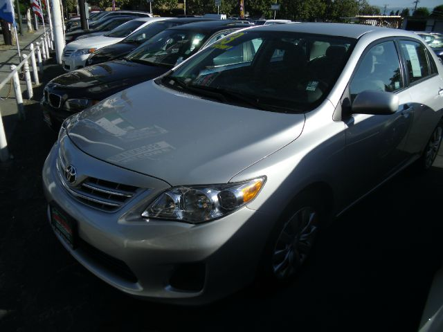 2013 TOYOTA COROLLA LE 4-SPEED AT silver do not forget your on line car loan application