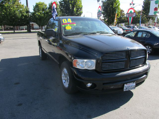 2004 DODGE RAM 1500 SLT QUAD CAB LONG BED 2WD black abs brakesair conditioningamfm radioanti-b
