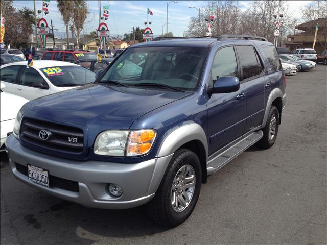 2004 TOYOTA SEQUOIA SR5 2WD blue this is an internet offer so please ask for the internet sales t