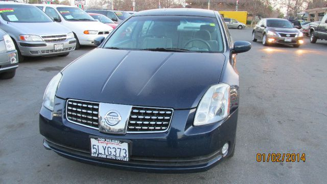 2005 NISSAN MAXIMA SE WITH 6MT metallic blue dont forget your online car loan application