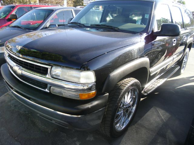 2002 CHEVROLET SUBURBAN 1500 2WD black do not forget your on line car loan application g