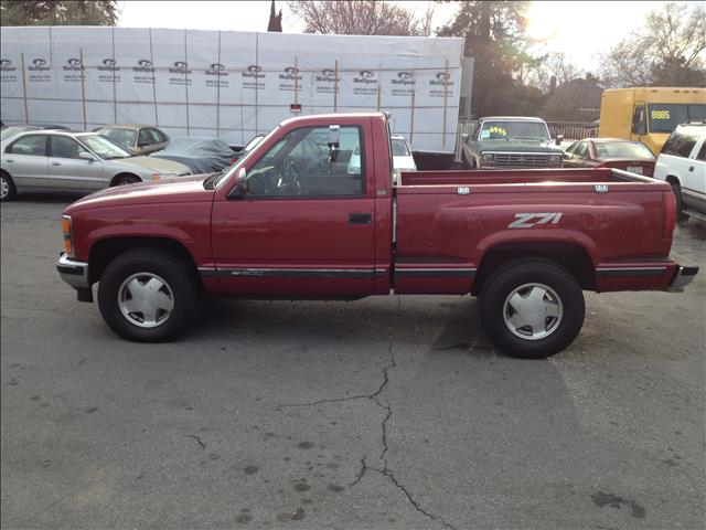 1990 CHEVROLET K1500 REG CAB SPORTSIDE 4WD red dont forget your online loan application