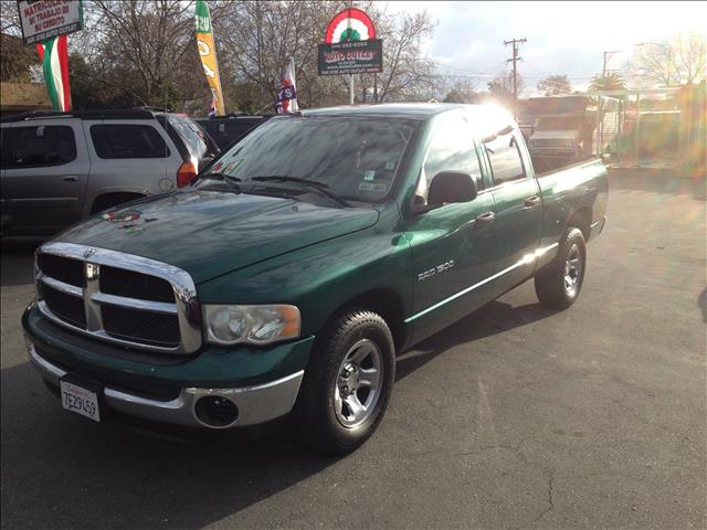2003 DODGE RAM 1500 SLT QUAD CAB SHORT BED 2WD green abs brakesair conditioningamfm radioanti-