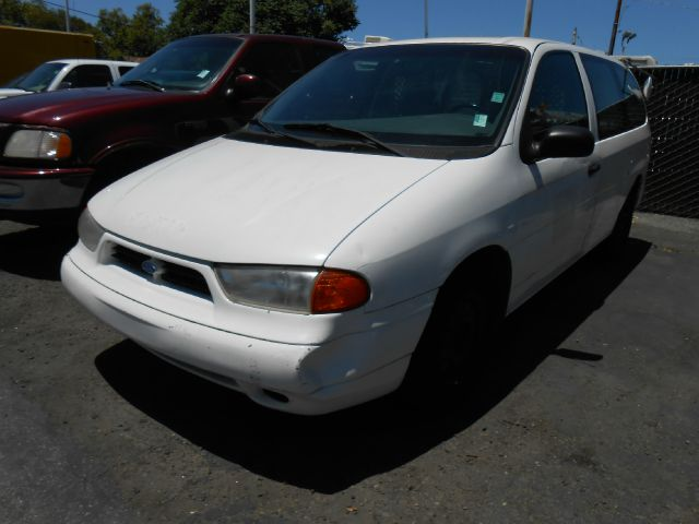 1998 FORD WINDSTAR CARGO VAN white dont forget your online car loan application go to