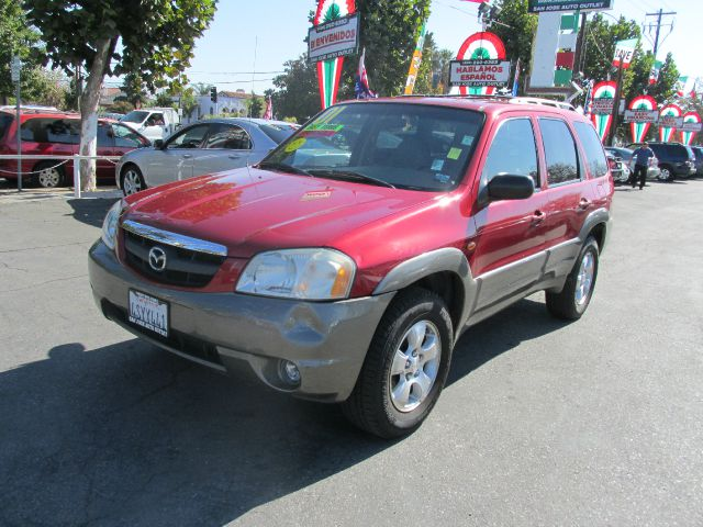 2001 MAZDA TRIBUTE ES 4WD red do not forget your on line car loan application go to   w