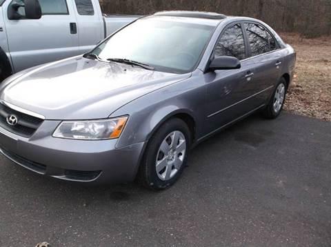 2008 Hyundai Sonata for sale in East Granby, CT