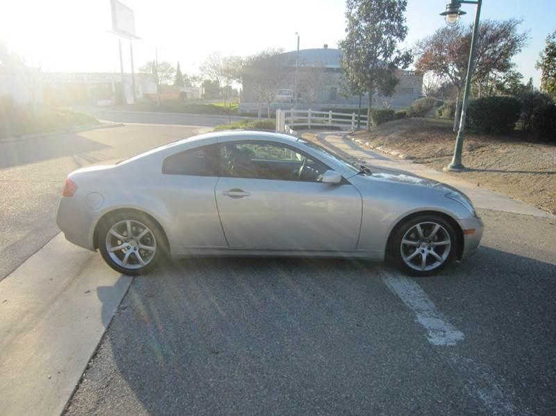 2004 Infiniti G35 Rwd 2dr Coupe w/Leather - Fullerton CA