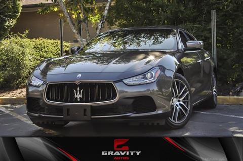 2014 Maserati Ghibli for sale in Atlanta, GA