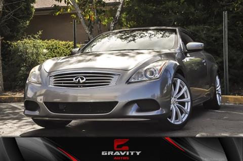 2010 Infiniti G37 Convertible for sale in Atlanta, GA