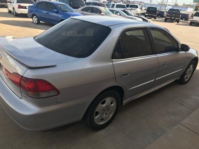 2001 Honda Accord Ex V6 4dr Sedan In Lawton Ok Vanhoozer