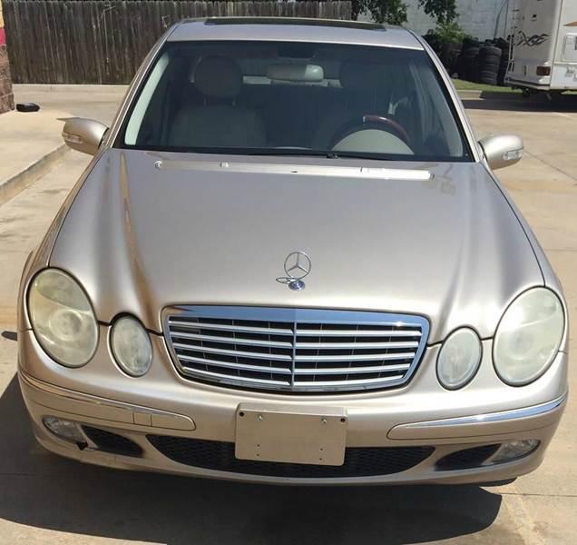 2004 mercedes benz e class awd e500 4matic 4dr sedan in for Mercedes benz 2004 e500