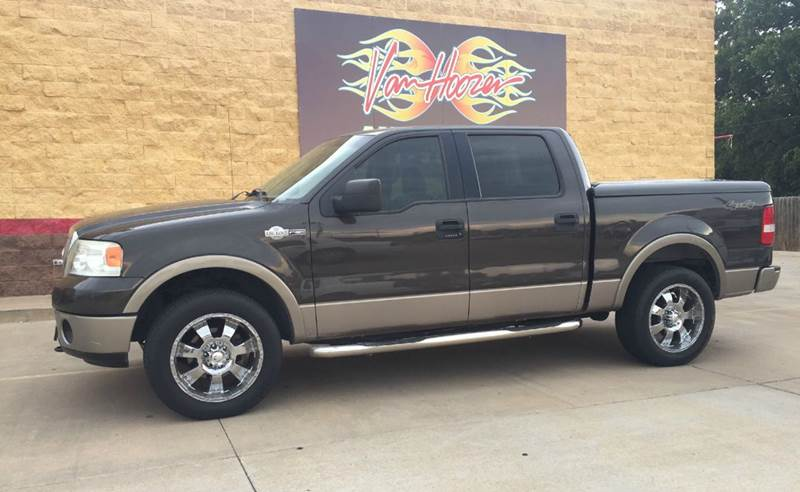 2006 ford f 150 king ranch 4dr supercrew 4wd styleside 5 5 ft sb in lawton ok vanhoozer auto. Black Bedroom Furniture Sets. Home Design Ideas
