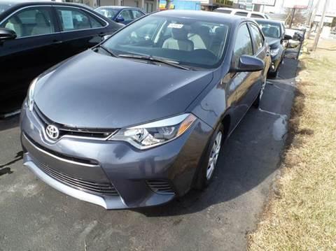 2015 Toyota Corolla for sale in Greenwood, IN
