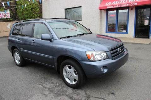 2007 Toyota Highlander for sale in Revere, MA