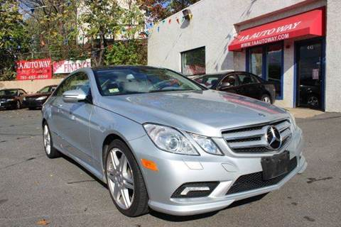 2010 Mercedes-Benz E-Class for sale in Revere, MA