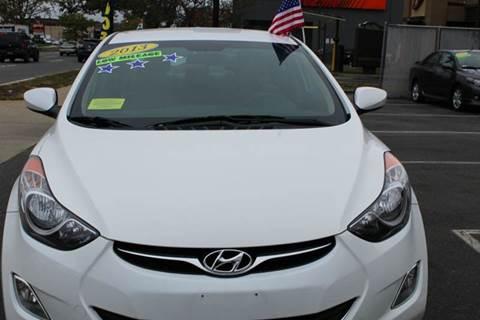 2013 Hyundai Elantra for sale in Everett, MA