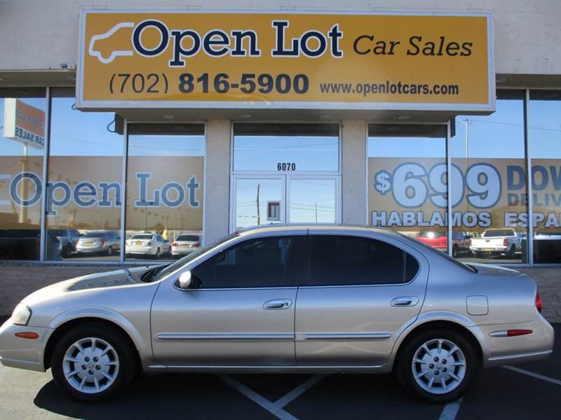 Used Cars in Las Vegas 2001 Nissan Maxima