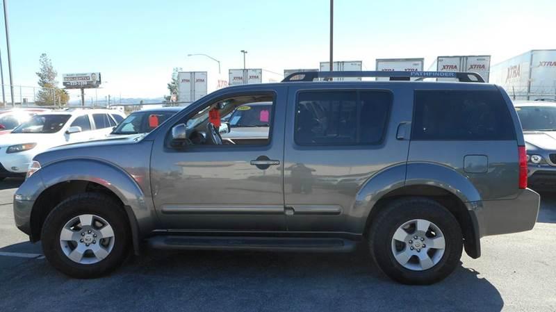 Used Cars in Las Vegas 2006 Nissan Pathfinder