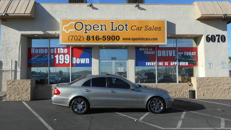 Used Cars in Las Vegas 2005 Mercedes Benz E-Class