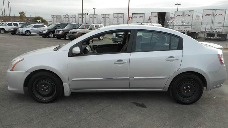 Used Cars in Las Vegas 2012 Nissan Sentra