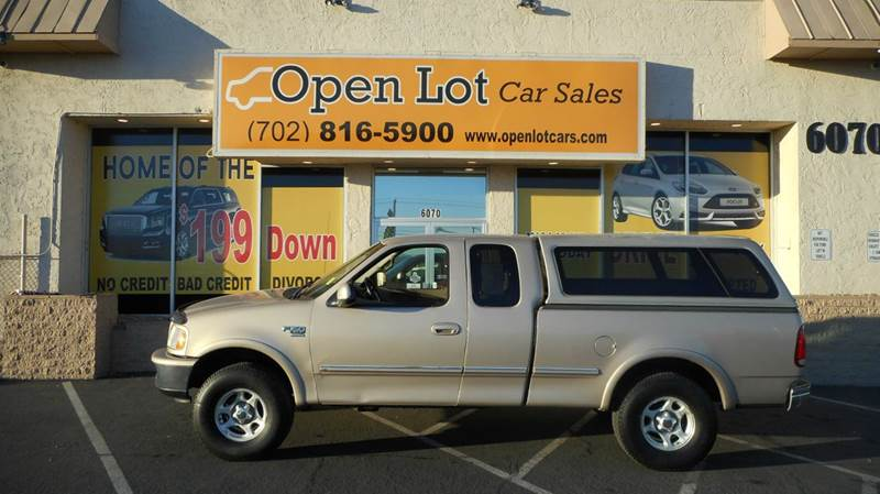 Used Cars in Las Vegas 1998 Ford F-150