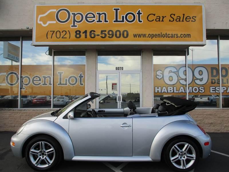 Used Cars in Las Vegas 2005 Volkswagen Beetle