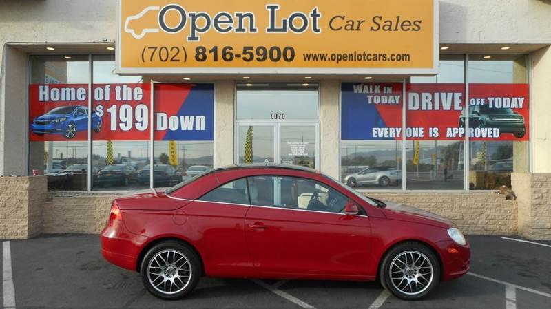Used Cars in Las Vegas 2008 Volkswagen Eos