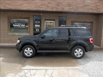 2009 Ford Escape for sale in Rosedale, IN
