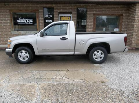 2004 GMC Canyon for sale in Rosedale, IN