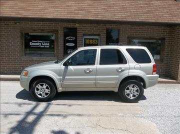 2004 Ford Escape for sale in Rosedale, IN