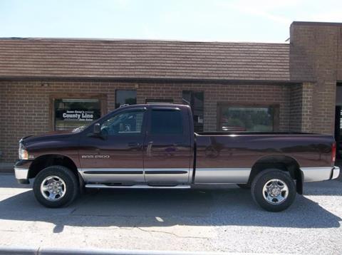2004 Dodge Ram Pickup 2500 for sale in Rosedale, IN